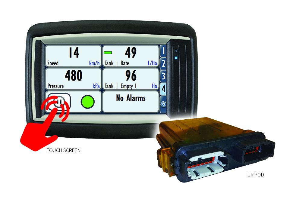 74V1 Spray Controller & UniPOD